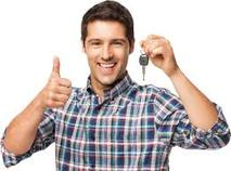 Thumbs Up-Male Customer with Keys
